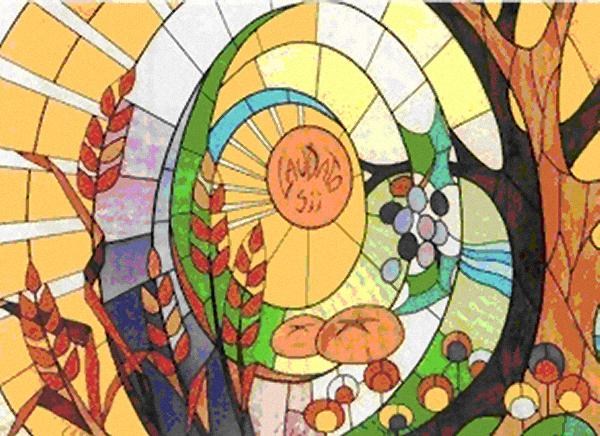 Vetrata Padre Pio